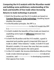 Session 12-Comparing the H-O and the IRS based model of trade.docx