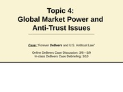 g202 Topic 4 Market Power notes