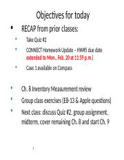 Before-Class Session 9 Slides - (Ch 8) Inventory.ppt