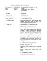 Penciuman Pengecapan 1pa02 Vallen Argiansyah Bahiz 16519455 Docx Laporan Praktikum Psikologi Faal Nama Mahasiswa Vallen Argiansyah B Tanggal Course Hero