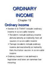 13 (Ordinary Income)[1]