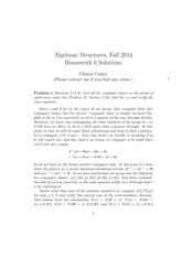 MATH 373 Fall 2014 Homework 6 Solutions
