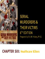 Chapter 6 - Healthcare Killers