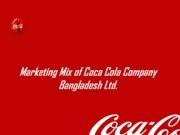 coca cola marketing mix