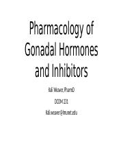 OMS1 Gonadal Hormones and Inhibitors S16