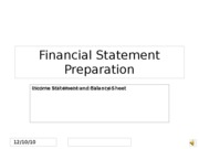 Week 1 Financial Statement Preparation telephone narration 2 Week 1