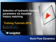 Assisted HM for hydraulic fracture