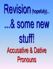 Accusative Pronouns And Dative Pronouns.pptx