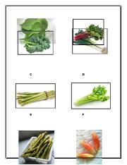 Vegetables Dichotomous Pictures.docx