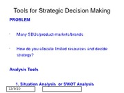 S10 MKTG 3104 2. Strategy Part 2 post