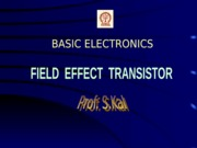 [SHELDO]Bel_06_field effect transistor