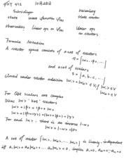 PHY 471 Lecture Notes (10/26/2015)