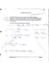 IENG 220 Maintenance Measures Homework and In class assignment
