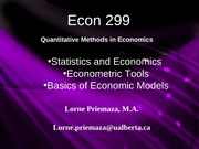 Econ 299 Chapter1a