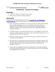 EGR 445 HW#10 Contract Formation Legal.doc
