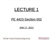 Lecture 1-002 - Jan 17 2012