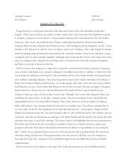Essay authorship