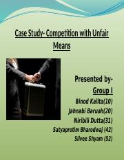 1. Competition by unfair means.pptx