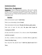 Music-- interview assignment.docx