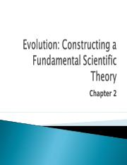 Lecture 2 - Chapter 2 - Evolutionary Theory.ppt