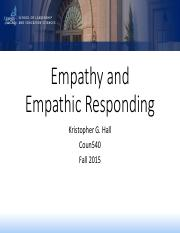 Class 4 - Empathy and Empathic Responding.pdf