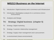 Lecture 4 - Digital Business Strategy
