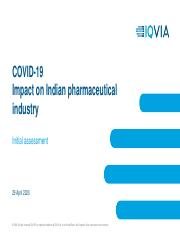 COVID19 IQVIA Initial Assessment - Impact on IPM.pdf