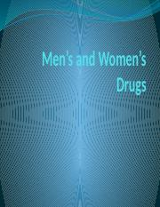 men and women drugs.pptx