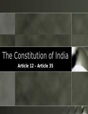 The Constitution of India.ppt
