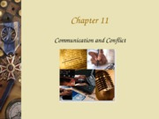 Chapter 11- Communication and Conflict