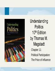 chapter11-PoliticalParticipation_ThePriceOfInfluence.ppt
