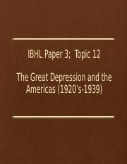 The Great Depression and the Americas (1920's-1939.pptx