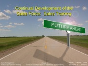 Chapter 6. Continual Development of the Salesforce:  Sales Training