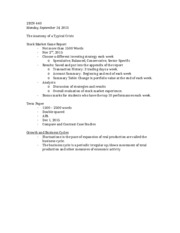 ECN 440 - Midterm Notes