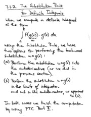 7.1.2 substituition rule for the