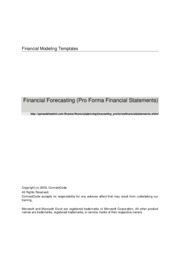 FinancialPlanningAndForecasting_ProFormaFinancialStatements[1]