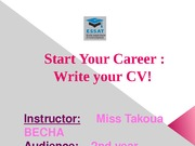 How to prepare your CV