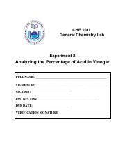 Experiment 2 (Analyzing the Percentage of Acid in Vinegar).pdf