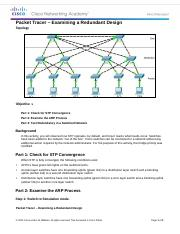 2.1.1.5 Packet Tracer - Examining a Redundant Design Instructions