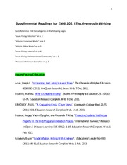 English 102-Supplemental Readings List020113
