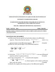 SMA 2304  ORDINARY DIFFERENTIAL EQUATIONS 1.docx