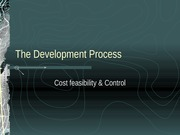 The Development Process week 7 QS 1