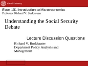 11. 15 Social Security