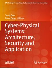 Cyber-Physical Systems - Architecture, Security and Application.pdf