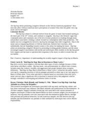 prospectus literature review