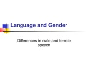 10 Language and gender 1 PP
