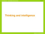 WT 4e, chap 07-Thinking & Intelligence-chg