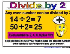 Divide by 2- Maths Strategies