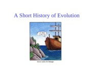 Topic 2, A Short history of evolution