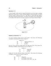 Homework 2 Solution on Dynamics
